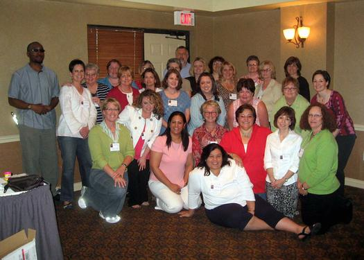 Family Specialist Workshop group photo